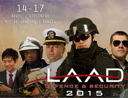 ULIRVISION participated in LAAD Defence & Security2015 in Brazil